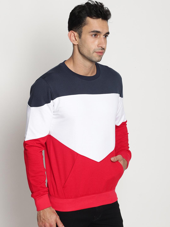 e7e4caeefa Buy Full Sleeves Multi Color Sweatshirt For Men Online India
